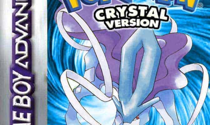 pokemon crystal gameshark codes