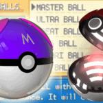 Pokemon Leaf Green: Have All Pokeballs Cheat