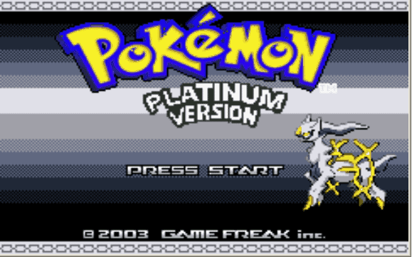 Cheat codes for Pokemon Light Platinum