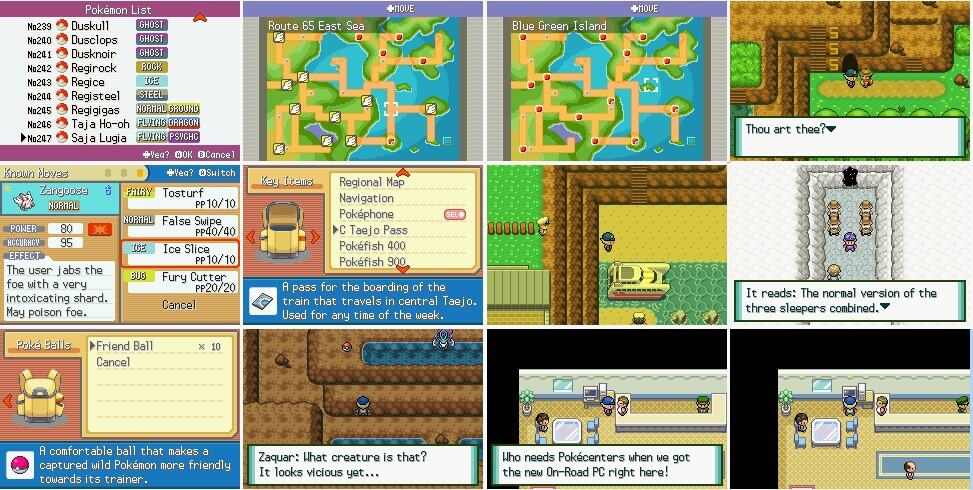 Pokemon Normal ROM Hack Download - Screenshots