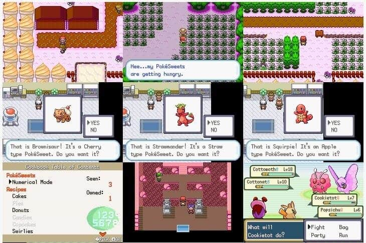 Pokemon Sweet version ROM hack download