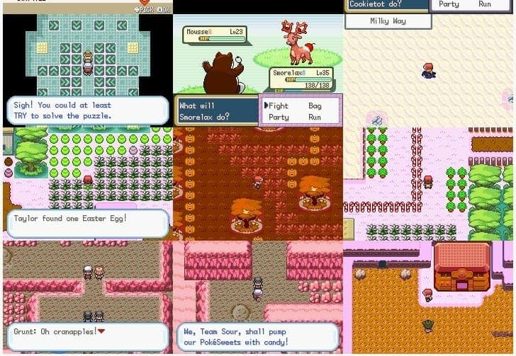 Pokemon Sweet version ROM hack download