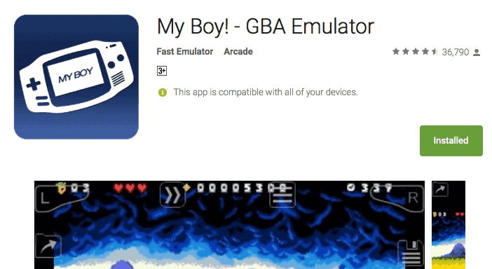 My Boy! - GBA Emulator (Paid) APK FREE Download | PokemonCoders