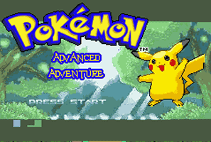 Pokemon Advanced Adventure Cover