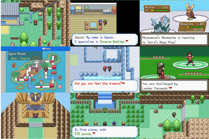 Pokemon Gaia screenshots
