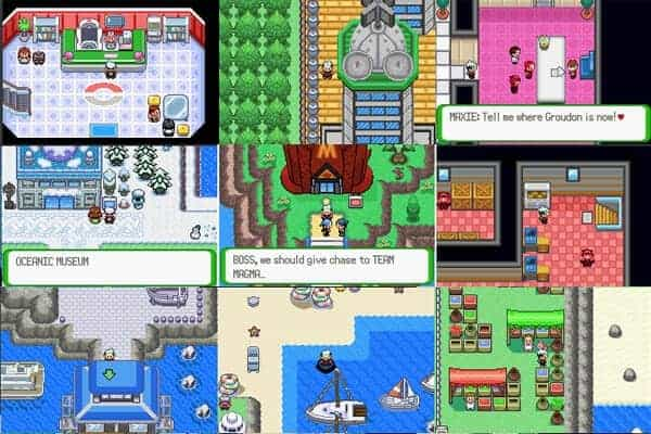 pokemon fan made games gba