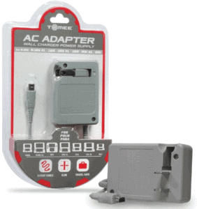 Tomee AC Wall Charger Adapter for 3DS