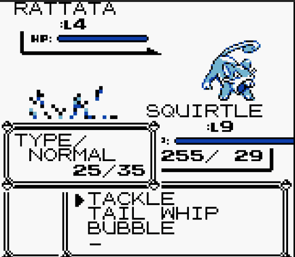 Pokemon Blue Infinite HP cheat