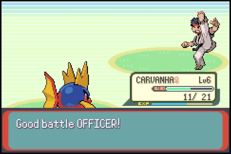 CAWPS battle scene