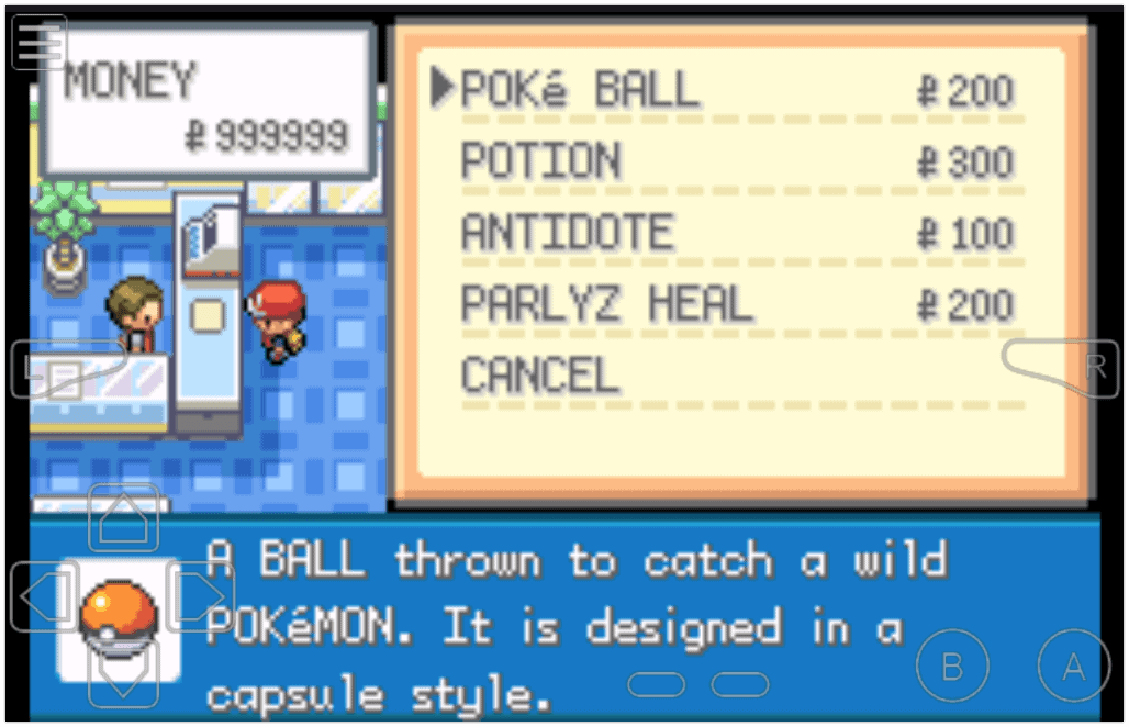 Pokemon FireRed Infinite Cash Cheat