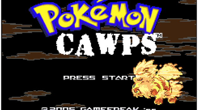 Pokemon CAWPS cover