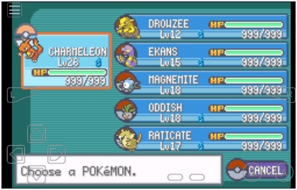 <b>Pokemon Fire Red Cheats</b> - <b>Gameshark Codes</b>, Game Boy Advance