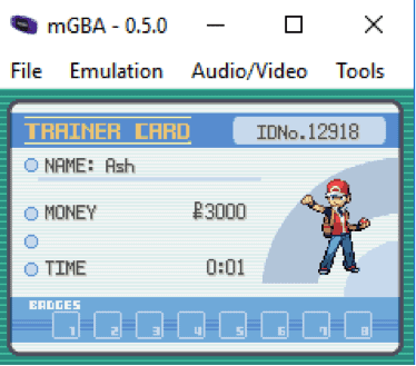 mGBA 3rd best gba emulator for PC