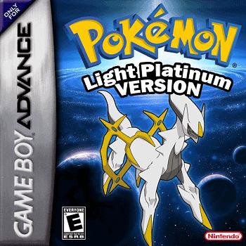 Best Pokemon GBA Light Platinum