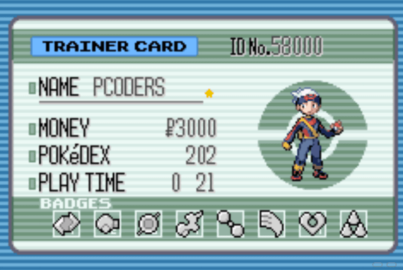 Pokemon Ruby all badges cheat