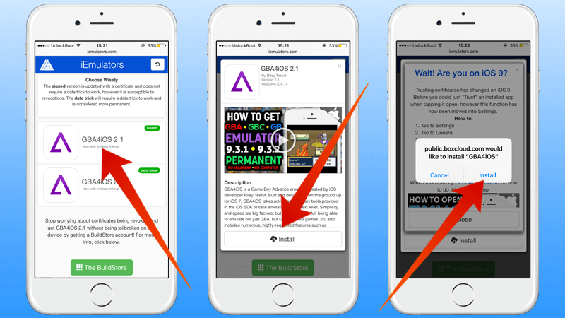 How to Trust a Developer in an iPhone or iPad to run GBA4iOs?