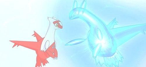 Pokemon Ruby/Sapphire Latios and Latias
