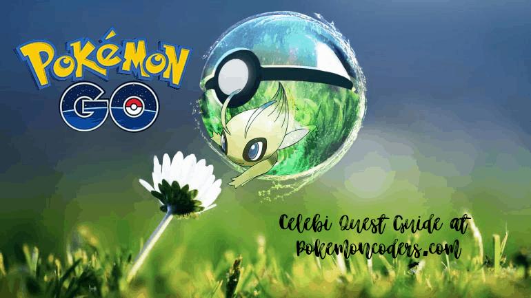 Pokémon Go Celebi Quest Guide 1