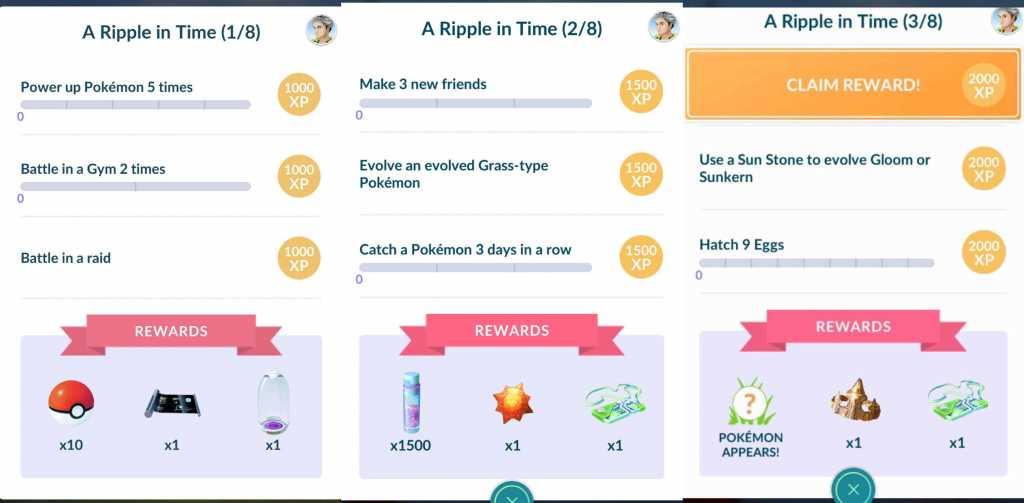 Pokémon Go Celebi Quest Guide 2