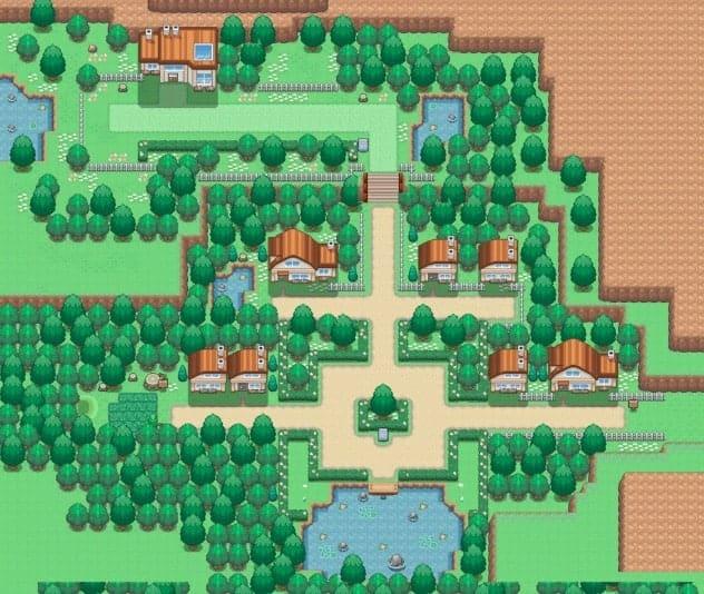Moki town Pokemon uranium