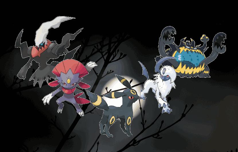 dark pokemon strength and weakness
