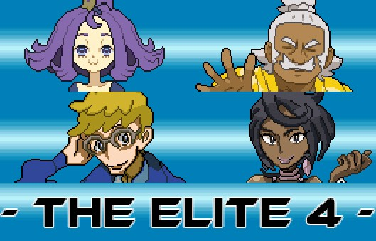 Pokemon Moon Black 2 Elite 4