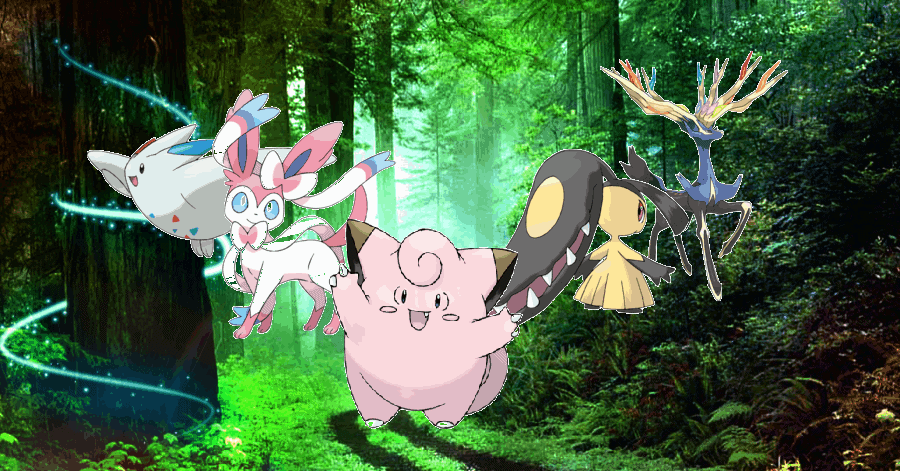 Fairy Pokemon strength and weakness