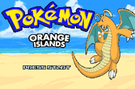 Pokemon Orange Islands