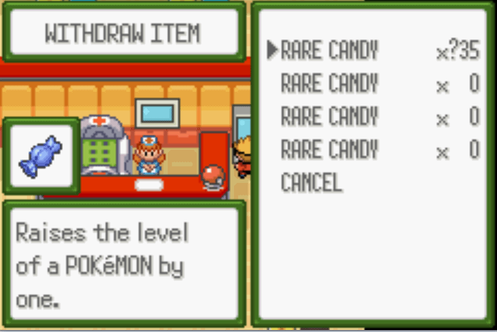 pokémon glazed reborn cheats