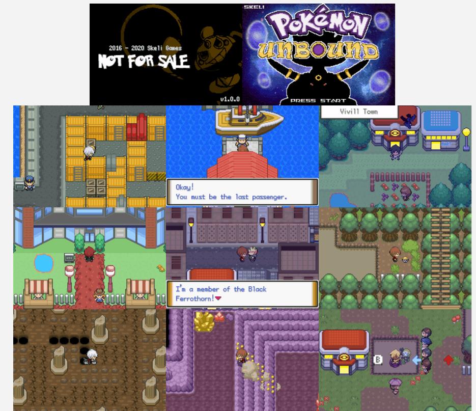 Pokemon unbound screenshot 1