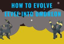 how to evolve eevee into umbreon