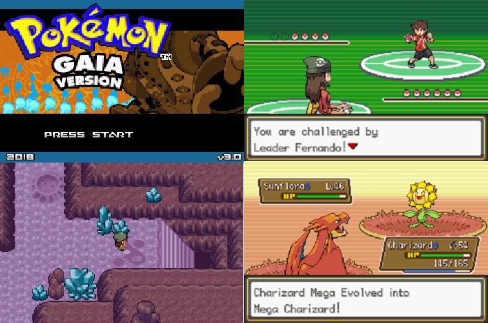 Pokemon Gaia best ROM hacks for 2021 with Mega Evolution