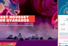 best moveset for Gyarados