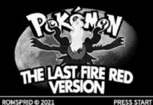 Pokemon Last Fire Red
