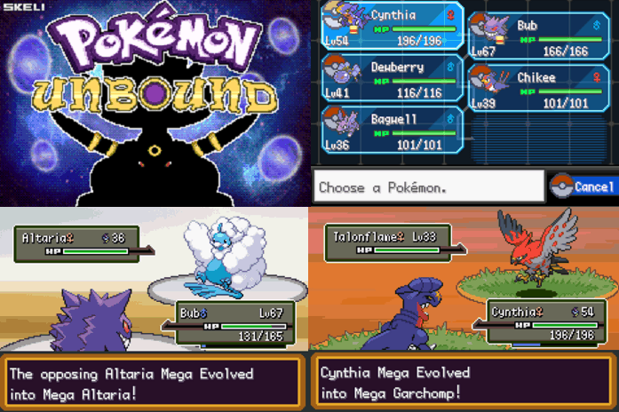 Pokemon Unbound best ROM hacks for 2021 with Mega Evolution
