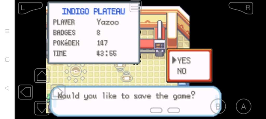 Step 12a how to trade Pokemon in MyBoy