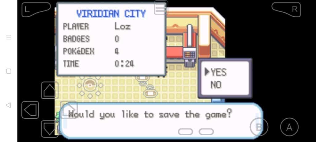 Step 12b how to trade Pokemon in MyBoy