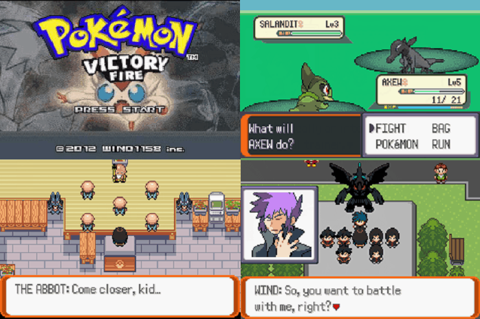 Pokemon Victory Fire ROM HACK WITH MEGA EVOLUTION
