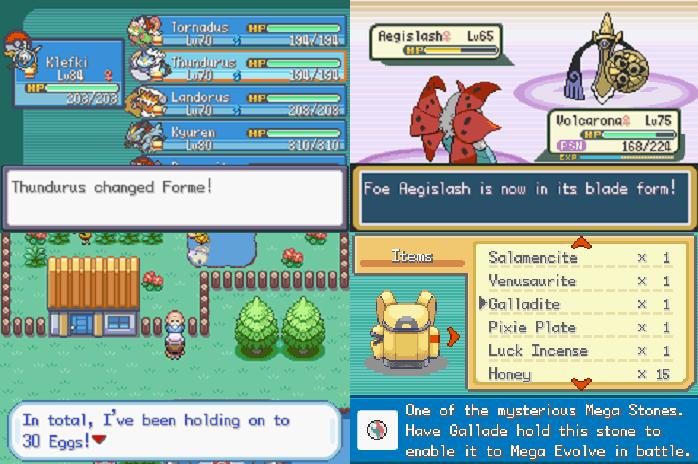 ROM HACK WITH MEGA EVOLUTION Pokemon mega evolution