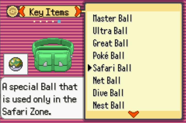 unlimited types of poke balls Pokemon Moon Emerald Cheat