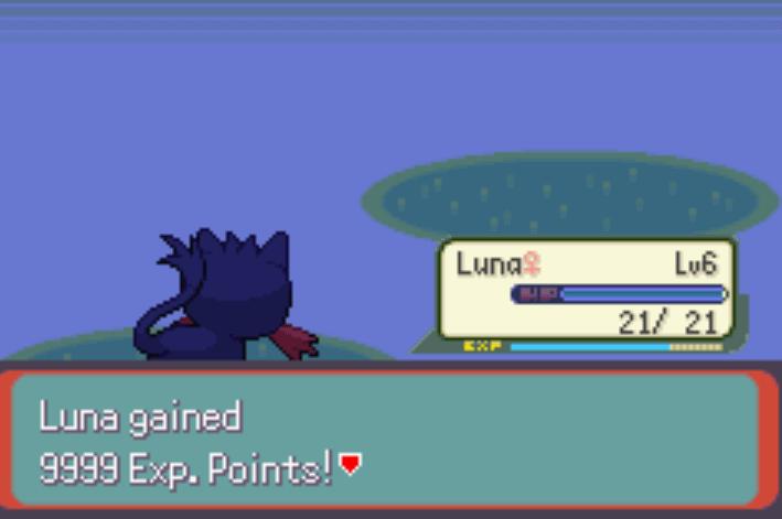 gain a lot of exp Pokemon Moon Emerald Cheat